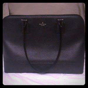 Kate spade leather handbag with laptop case